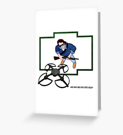 And who are you little fella? Greeting Card