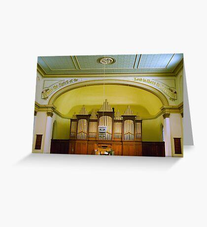 0197  The Organ Greeting Card