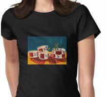 Tea set Womens Fitted T-Shirt