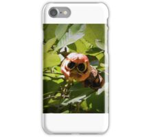 Apple with eyes iPhone Case/Skin