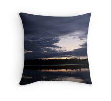 Northern Ontario Lake Throw Pillow