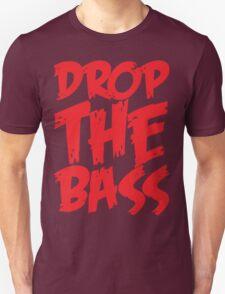 Drop The Bass (Red) T-Shirt