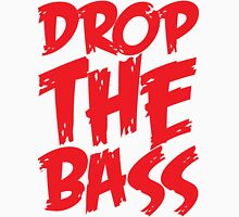 Drop The Bass (Red) Unisex T-Shirt