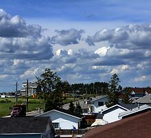 Clouds Over Suburbia II by TylerBelisle