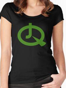 Jonny Quest (Solid) Women's Fitted Scoop T-Shirt