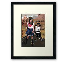 Dan and Beri Framed Print