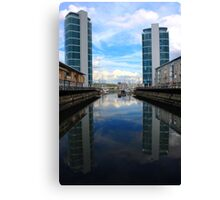 Chatham Dockside Canvas Print