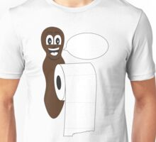 Blank Mr Hanky style poo shirt. Fill in your own saying! Unisex T-Shirt