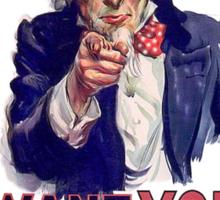 Mad Hatter Tea Party Downgrade Sticker