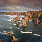 Mangersta Sea Stacks by Jeanie
