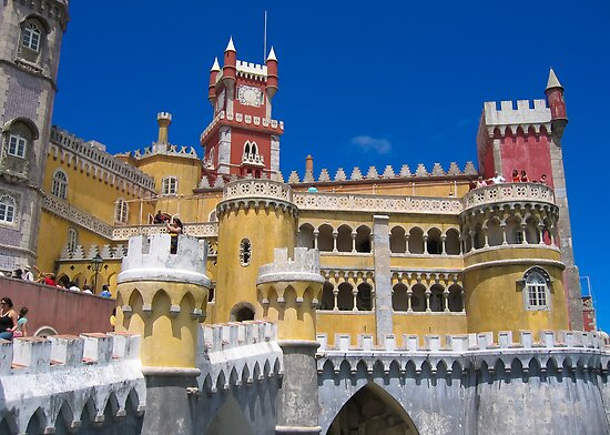 Pena National Palace by Dean Cunningham