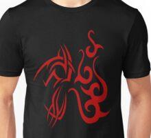 Swirls, tattoo style pattern Unisex T-Shirt