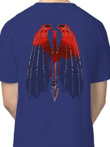 Demon wings Red Blood Classic T-Shirt