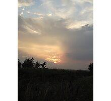 Moors Sunset Photographic Print