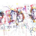 Beatles Graffiti by LoveringArts