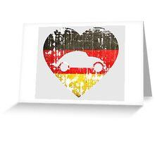 I Heart VW Beetles Greeting Card