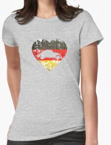 I Heart VW Beetles Womens Fitted T-Shirt