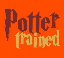 Potter Trained! Kids Clothes