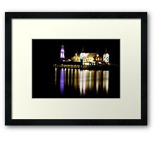 Bar at the end of the Pier Framed Print