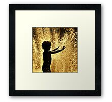 Happy times. Framed Print