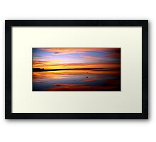 inverloch surf beach. winter, 2011 Framed Print