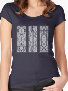Library Windows Women's Fitted Scoop T-Shirt