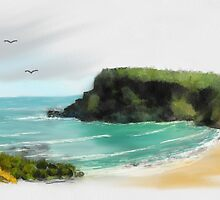 Childer's Cove Hilltop Views by Pam Amos
