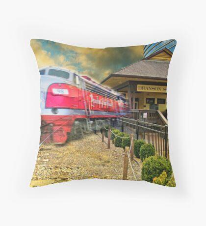 Branson Scenic Railway Throw Pillow
