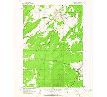 USGS Topo Map Oregon Cline Falls 279377 1962 24000 Photographic Print