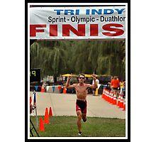 Tri-Indy Sprint-Olympic -Duathlon 1 Photographic Print
