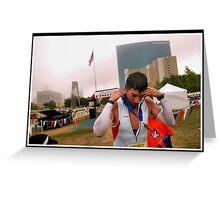 Tri-Indy Sprint-Olympic -Duathlon 4 Greeting Card
