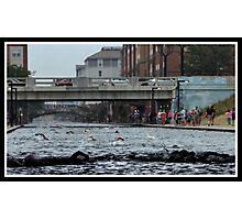 Tri-Indy Sprint-Olympic -Duathlon 6 Photographic Print