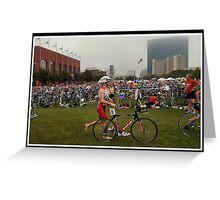 Tri-Indy Sprint-Olympic -Duathlon 9 Greeting Card
