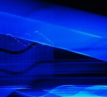 neon dream in blue by marysia wojtaszek