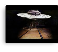 The Visitor From Outer Space! Canvas Print