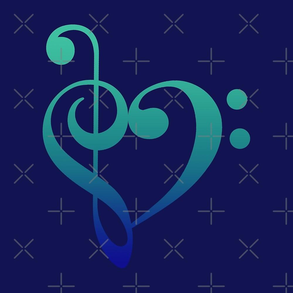 Love Music (Cool Colors) by Mirisha