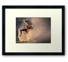 Surf's Up - Cottesloe Beach Framed Print