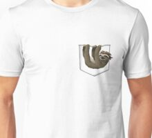 Pocket Pirate Sloth Unisex T-Shirt