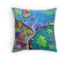 Sending Light Into Your Darkness Throw Pillow