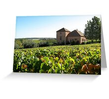 Picardy Winery - Pemberton Region Greeting Card