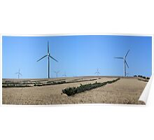 Harnessing the Wind - Emu Downs WA Poster