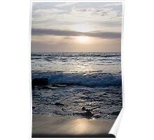 Serene Sunset - North Beach WA Poster