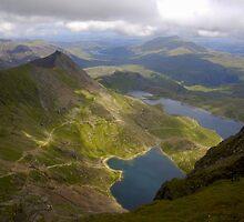 Snowdon Mountain, Wales uk. by PhillipJones
