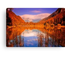 Indian Summer at Dürrsee Canvas Print
