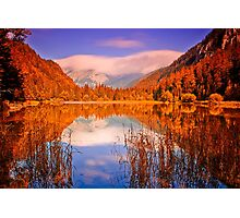 Indian Summer at Dürrsee Photographic Print