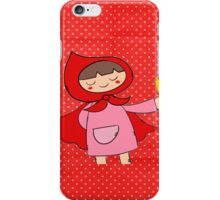 Little Riding Red Hood iPhone Case/Skin