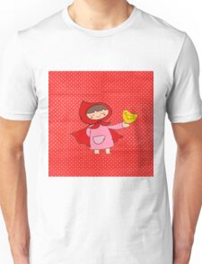 Little Riding Red Hood Unisex T-Shirt