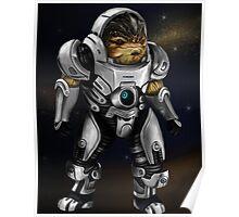 Grunt Mass Effect Poster