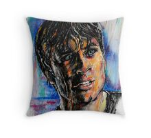 Portraits of Tom Welling, Clark Kent of Smallville Throw Pillow