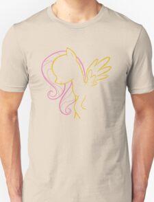 Fluttershy Outline T-Shirt